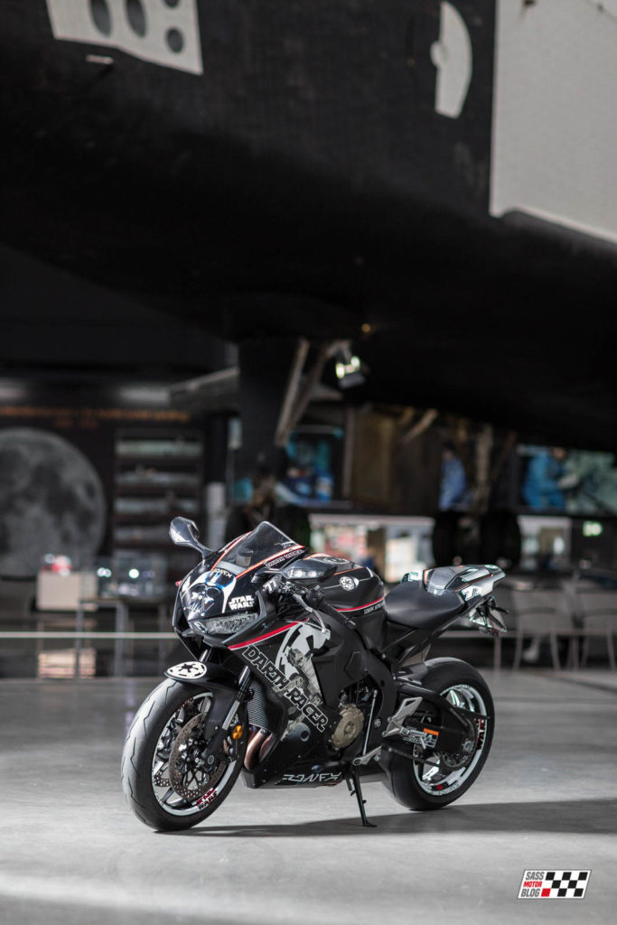 Foto: Torsten Karp - Darth Racer - Sass MotorBlog - Star Wars Bike