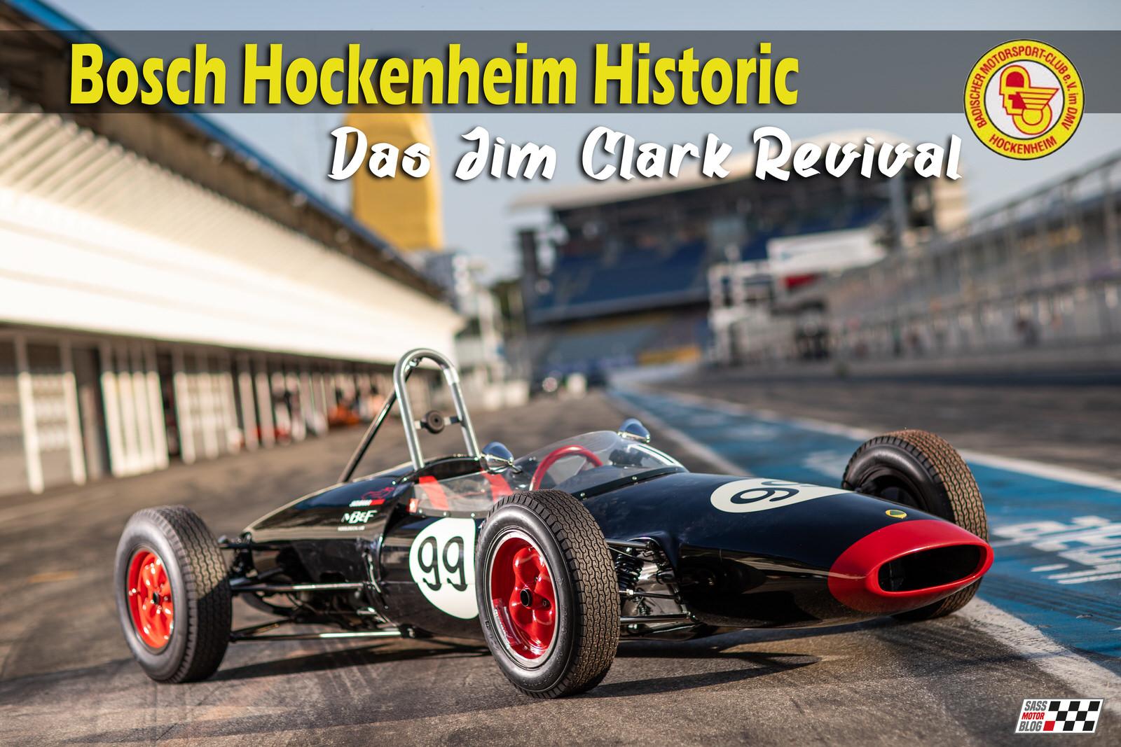 Bosch Hockenheim Historic - Das Jim Clark Revival 2018 | Foto: Torsten Karpf / Hockenheim-Ring GmbH